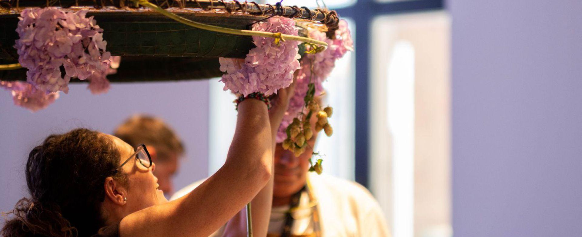 Bonsai Floristas, vanessa segovia